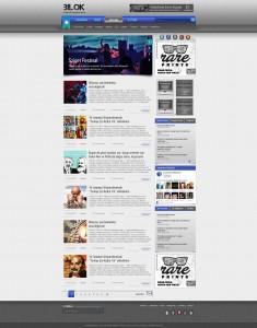 Wordpress Bilok Teması Anasayfa