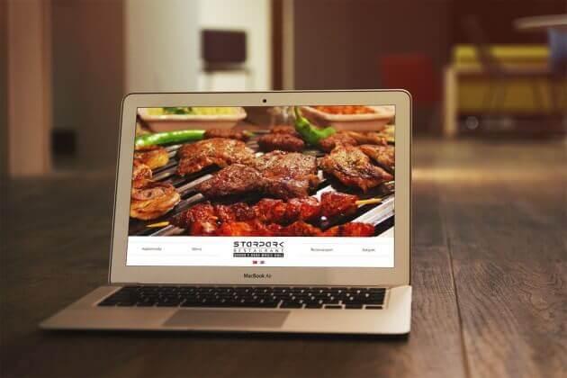 Restaurant Web Site Tasarım