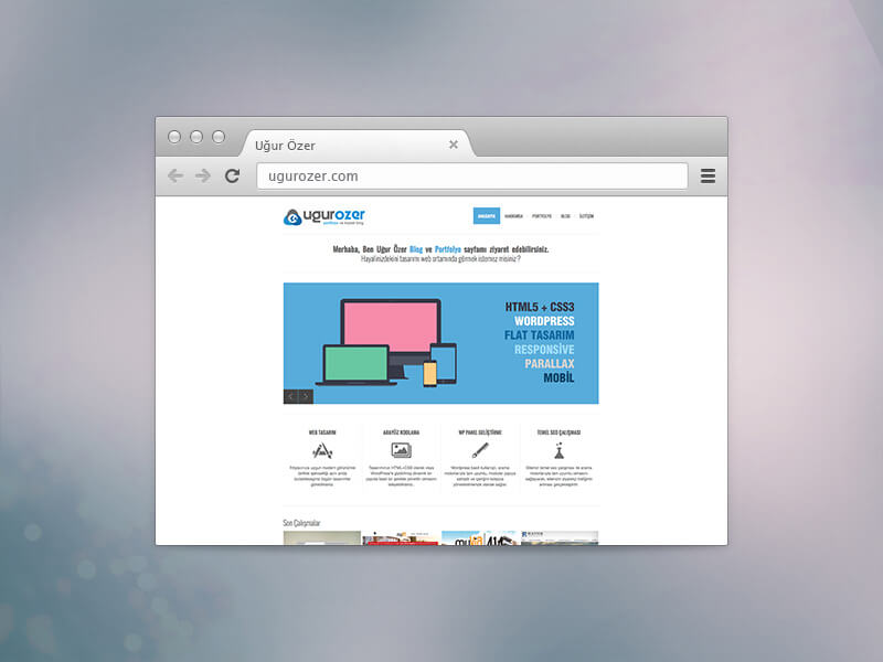 Web Sitemi Yeniledim !