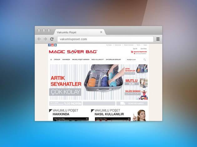 Vakumlu Poşet E-Ticaret Web Tasarım