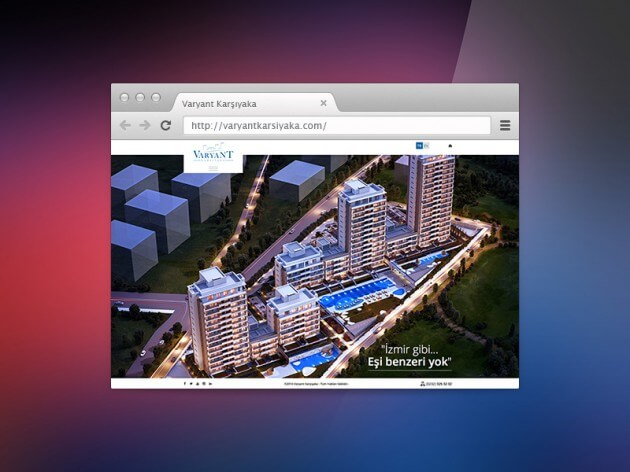 Varyant Karşıyaka Web Tasarımı Arayüz Kodlama