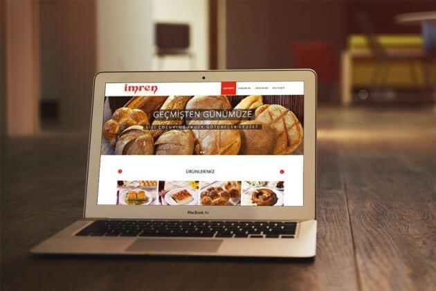 Unlu Mamuller Web Site Tasarımı