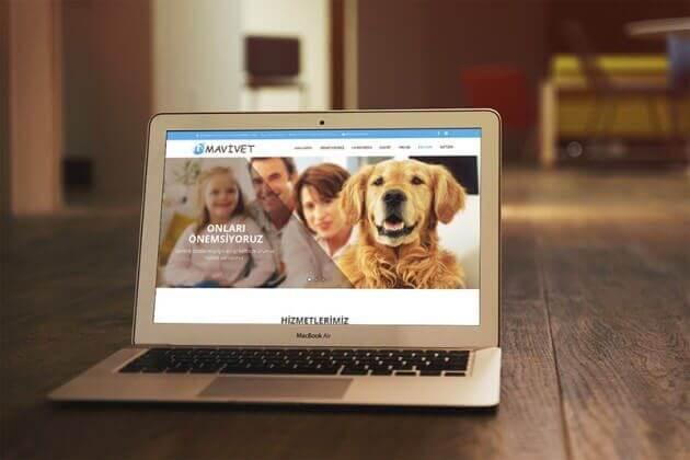 Veteriner Web Site Tasarımı