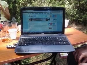 Piknikte 3g ile internet